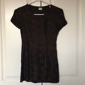United Colors of Benetton short black/brown dress